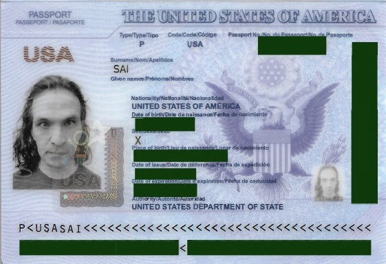 american passport last page - photo #42